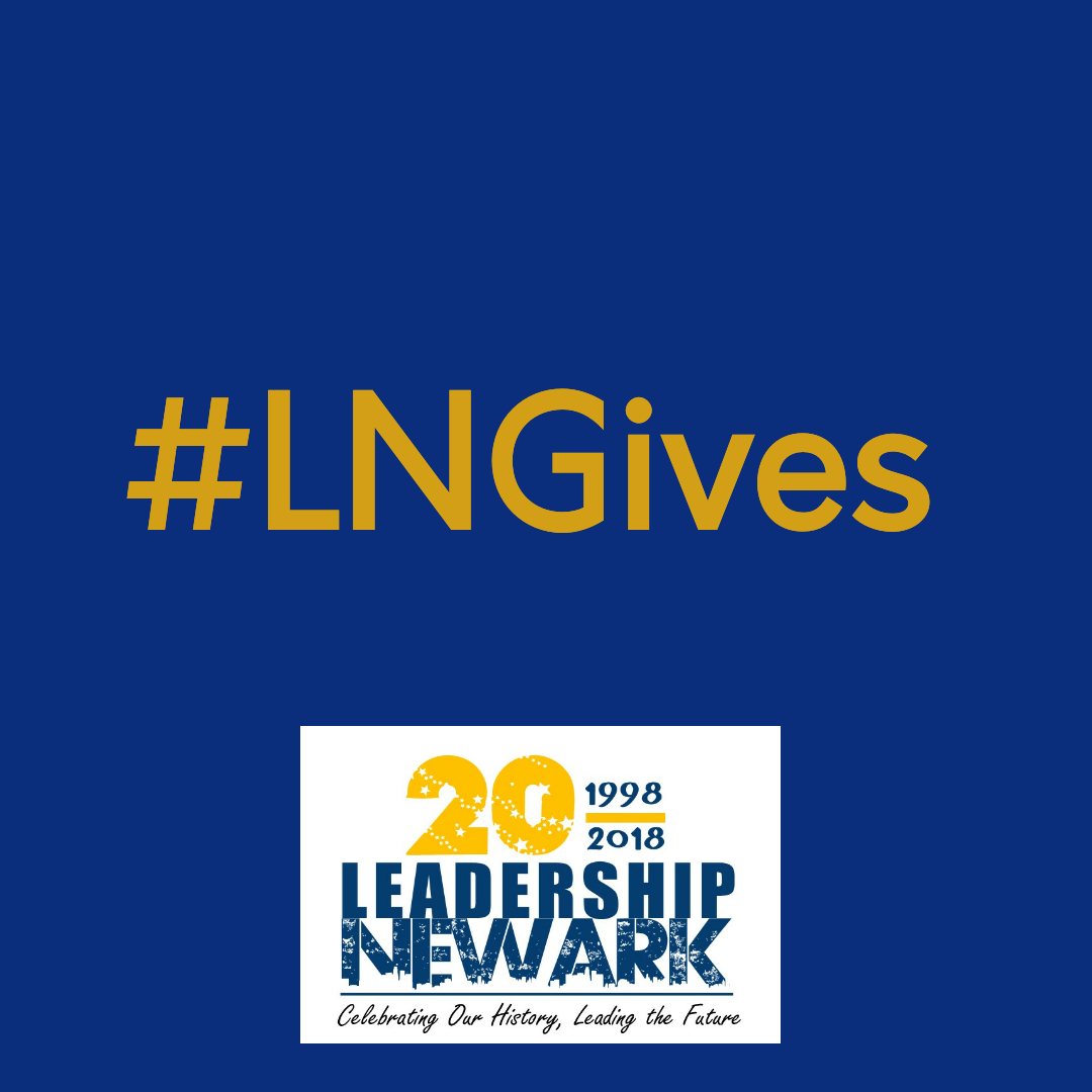 """Giving Tuesday"" – Leadership Newark Style"