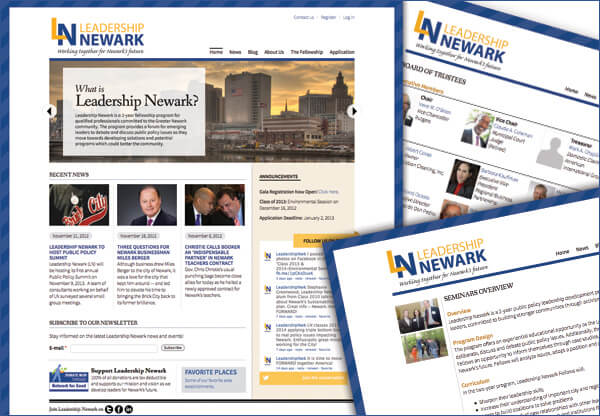 Leadership Newark Announces Launch of New Website